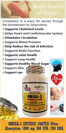 Explores Omega 3 Benefits