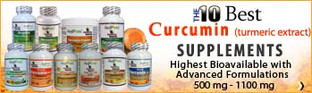 The 10 Best Curcumin Supplements