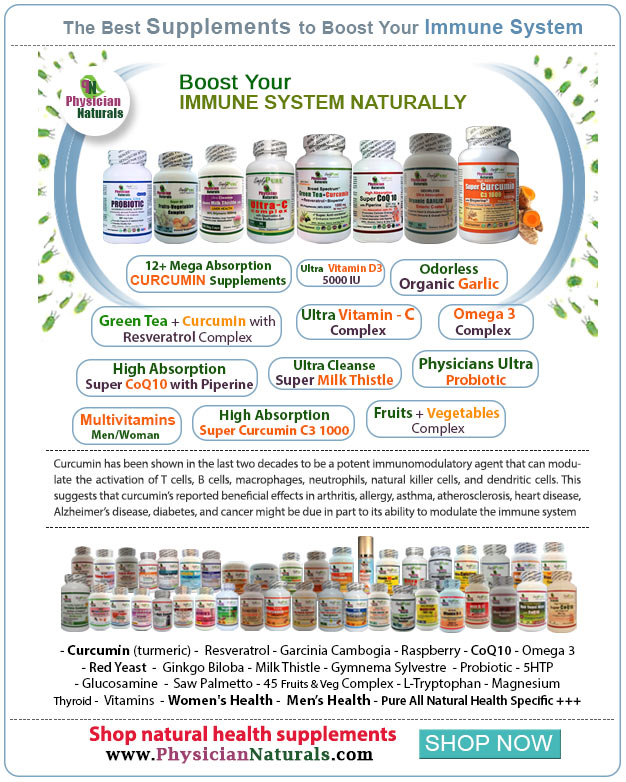 Boost Your Immune System Naturally | Supplements