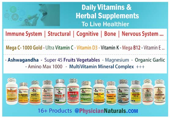 Pure Vitamins And Herbal Supplements