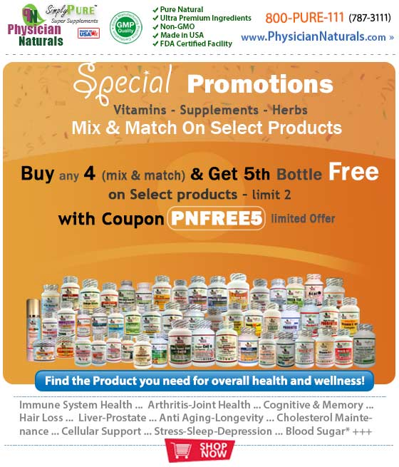 Special Promotions Coupon - Vitamins Supplements Herbs