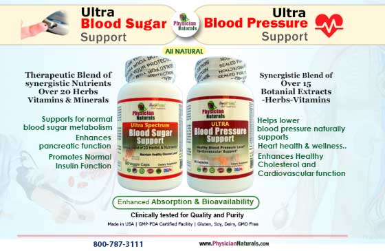Special Offer - Ultra Blood Sugar & Ultra Blood Pressure