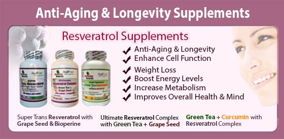 Anti Aging and Longevity Supplements