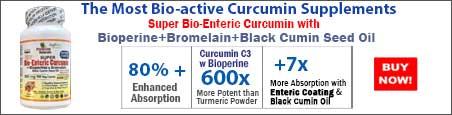 Buy  Super Bio-Enteric Curcumin with Bioperine+Bromelain+Black Cumin Seed Oil