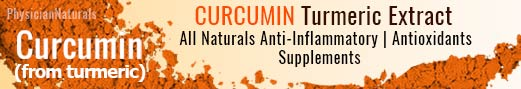 CURCUMIN Turmeric Extract | All Naturals Anti-Inflammatory | Antioxidants | Prevent Cancer