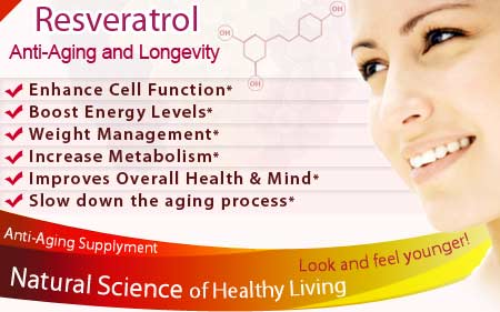 Resveratrol Supplement Health Benefits