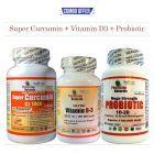 Combo Pack - SuperCurcumin+VitaminD3+Probiotic