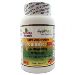 Ultra Absorb Curcumin 600 with Bioperine