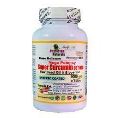 Mega Potency Super Curcumin C3 1000 Mg