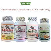 BioEnteric Curcumin Resveratrol Coq10 Fruits & Veg. Pack