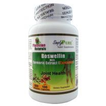 Boswellin with Curcumin and Turmeric Supplement