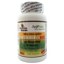 Ultra Absorb Curcumin 600 with Bioperine