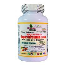 Mega Potency Super Curcumin C3 1000 Mg