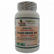 Organic GARLIC Enteric Coated Tablets