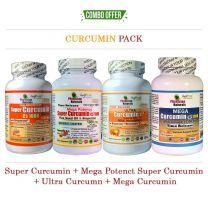 Super Curcumin+Mega Potency Super Curcumin+Ultra Curcumin+Mega Curcumin Pack