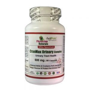Ultra Spectrum CranMax Urinary Complex 500 Mg  90 Capsules Provides All-Natural Herbs And Cranberry Concentrate