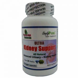Ultra Kidney Support 60 Veggie Capsules, All Natural Over 30 Herbs that Helps to Support Kidney & UIT