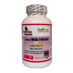 Super Milk Thistle 300 mg - 100 capsules
