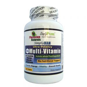 Simply Man Ultra Potency Daily MultiVitamin 100 tabs