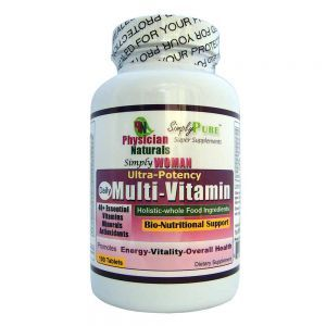 Simply Woman Ultra Potency Daily Multi Vitamin 100 tabs