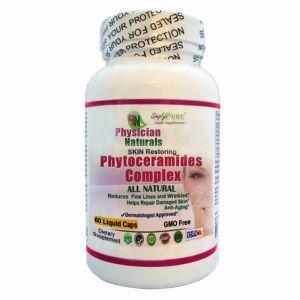 All Natural PHYTOCERAMIDES Complex 60 Liquid caps