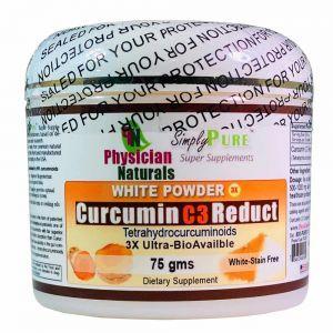 Pure White Curcumin C3 Reduct Powder White Curcumin Powder 3X Better Absorption White-Stain Free