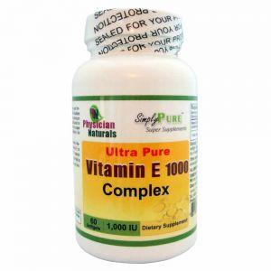 Ultra Pure Vitamin E Complex 1000 60 softgels