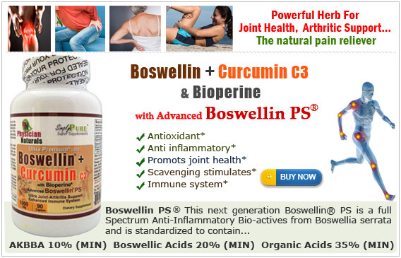 Curcumin and Boswellia are a Powerful Combination