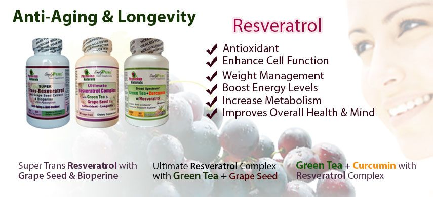 Anti-Aging and Longevity Supplements