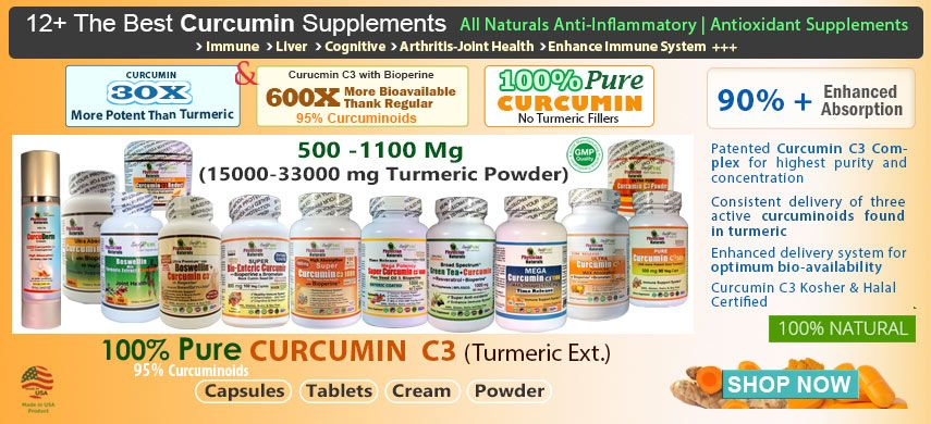 Buy High Absorption Pure Curcumin Turmeric Supplements