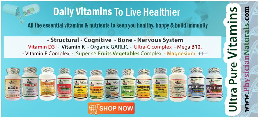Daily Vitamins and Nutrients