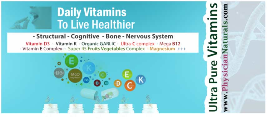 Daily Vitamins To Live Healthier