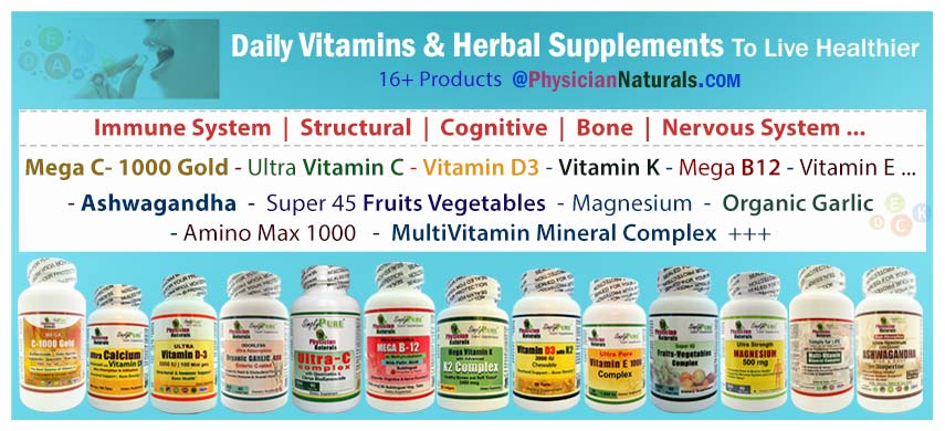 Shop Daily Vitamins And Herbal Supplements