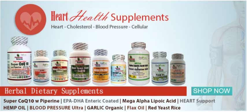 Buy Heart Health Supplements