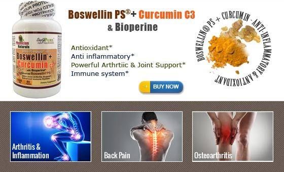 Boswellin PS Curcumin C3 and Bioperine Supplement Benefits