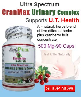Urinary Tract Infection Supplements