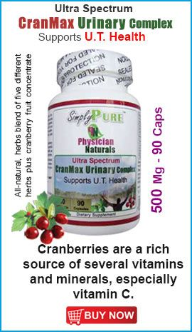 Cranberries are a rich source of Vitamin C ...