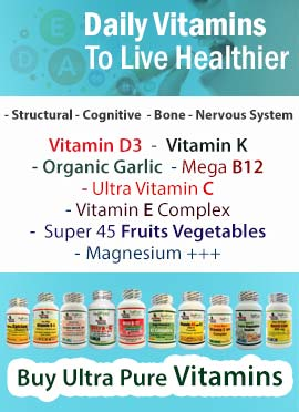 Daily Vitamins Immune Support - Vitamin D3, K2, B12, C, Vitamin E, Fruits+Vegg Complex +++