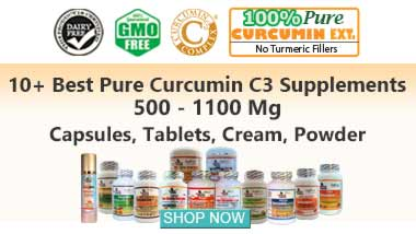 10+ Best Curcumin Turmeric Supplements